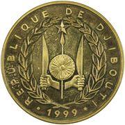 1 Franc (50ème anniversaire de la monnaie nationale) – avers