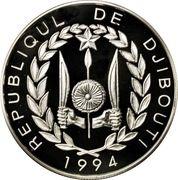 100 francs (Jeux olympiques Atlanta 1996) – avers