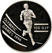 100 francs (Jeux olympiques Atlanta 1996) – revers