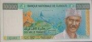 10000 Francs Banque Nationale – avers