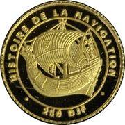 250 francs (Histoire de la navigation) – revers