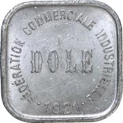 5 Centimes - Fédération Commerciale Industrielle - Dole [39] – avers