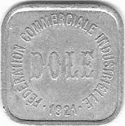 10 Centimes - Fédération Commerciale Industrielle - Dole [39] – avers
