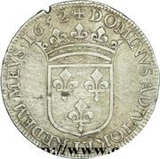 Demi-écu Gaston d'Orléans -  avers