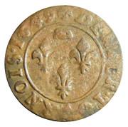 Denier-Tournois Gaston d'Orléans (Type 7) – revers