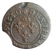 Denier-Tournois Gaston d'Orléans (Type 9) – revers