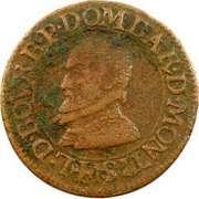 Double-Tournois Louis II de Bourbon-Montpensier (Type 1) – avers