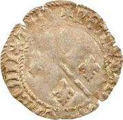 1 denier Pierre II de Bourbon – avers