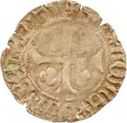 1 denier Pierre II de Bourbon – revers