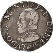 Teston Louis II de Bourbon-Montpensier -  avers