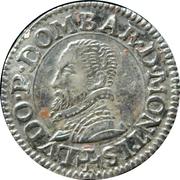 Denier Tournois Louis II de Bourbon-Montpensier (Essai en argent) – avers