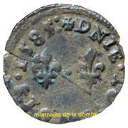 Denier-Tournois François II de Bourbon-Montpensier (Type 3) – revers
