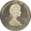 10 Dollars - Elizabeth II (Indépendance - Histoire du Carnaval) – avers