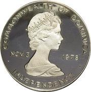 20 Dollars - Elizabeth II (Indépendance et 50ème anniversaire de Graf Zeppelin) – avers