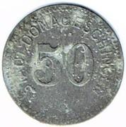 50 pfennig - Donaueschingen – avers