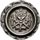 1 Brakteat - Friedrich II. – avers