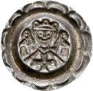 1 Brakteat - Friedrich II. – revers