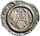 1 Brakteat - Heinrich VI. – avers
