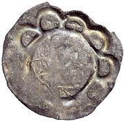 1 Dünnpfennig - Heinrich VI. – revers