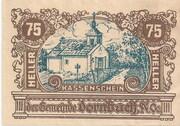 75 Heller (Dornbach) -  avers