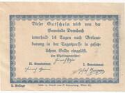 75 Heller (Dornbach) -  revers