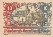 10 Heller (Dornbach) -  avers