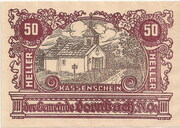 50 Heller (Dornbach) -  avers