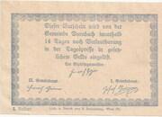 50 Heller (Dornbach) -  revers