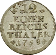 1/12 Thaler – revers