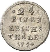 1/24 Thaler – revers