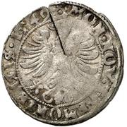 9 Pfennig – avers