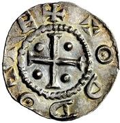 1 Denar - Otto III. – avers