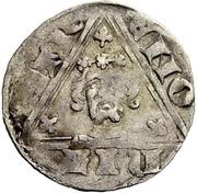 1 Pfennig - Wenzel von Luxemburg – revers