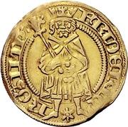 1 Goldgulden - Friedrich III. – avers
