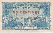 50 centimes - Chambre de Commerce de Valence et de la Drome [26] – avers