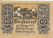 10 Heller (Drosendorf) -  avers