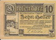 10 Heller (Drosendorf) -  revers