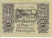 20 Heller (Drosendorf) -  avers