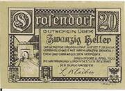 20 Heller (Drosendorf) -  revers