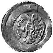 1 pfennig Duc Leopold VI (Enns) – avers