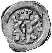 1 pfennig Duc Friedrich II -  avers