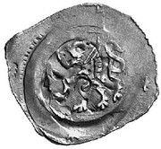 1 pfennig Duc Friedrich II – revers