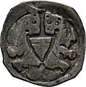 1 pfennig Ottokar II de Bohême – avers