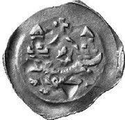 1 pfennig Ottokar II de Bohême – revers