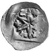 1 pfennig Ottokar II de Bohême -  avers