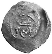 1 pfennig Ottokar II de Bohême -  revers
