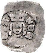 1 pfennig Ottokar II de Bohême (Vienne) – avers