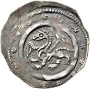 1 pfennig Leopold VI (Enns) – avers