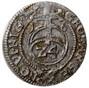 1½ grossus Sigismund III Vasa (Riga) – revers
