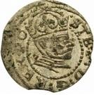 1 denarius Étienne Báthory (Riga) – avers